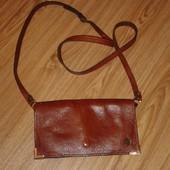 Модная маленькая кожаная сумочка сумочка