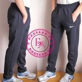 Тёплые штаны Nike темно-синий