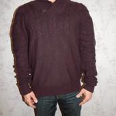 Fyi Свитер стильный модный тёплый 80% шерсть мужской р XL