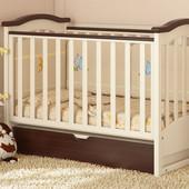 Детская кроватка Prestige 2 комбинированная Baby Dream
