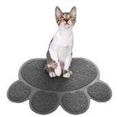 Коврик для животных Paw Print Litter Mat, для кошек и собак