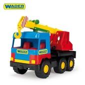 Средний грузовик - кран