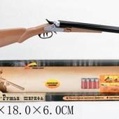 Ружье lj s901-1/t27-Ружье, патроны 4шт, звук, работает на батарейках