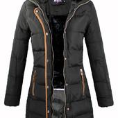 Женская зимняя куртка пуховик пальто