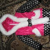 Детское зимнее пальто для девочки