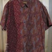 Рубашка , выполненная по технологии батика. Keris Fashion / Бали. 3XL.