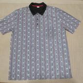 Красивая футболка с растительным принтом. ISA bodywear Швейцария. xl.
