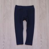 Синие леггинсы Next для девочки, размер 12-18 месяцев, состояние идеальное.
