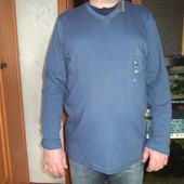 синий пуловер из Америки