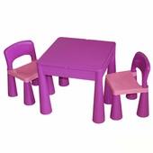 Детский столик и стульчики Tega Mamut фиолетовый