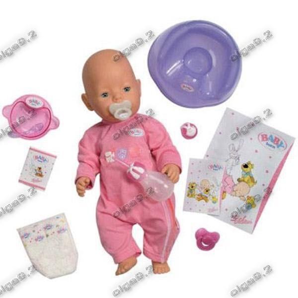 Пупс кукла, беби борн. 2 соски! baby born. фото №1