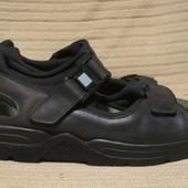 Фирменные черные кожаные сандалии Mephisto. Франция. 42 р.