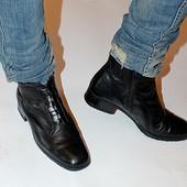 Ботинки, кожа, оригинал, 39,5 р, демисезон
