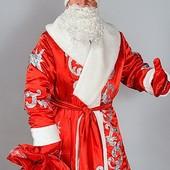 Костюм Деда Мороза атлас