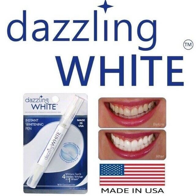 Отбеливающий карандаш для зубов- dazzling white pen - сша фото №1
