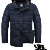 Куртка зимняя Больших размеров Braggart (4065)