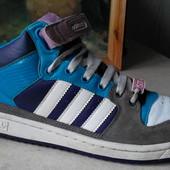 № 1983 кроссовки сникерсы Adidas ST 40,5 кожа