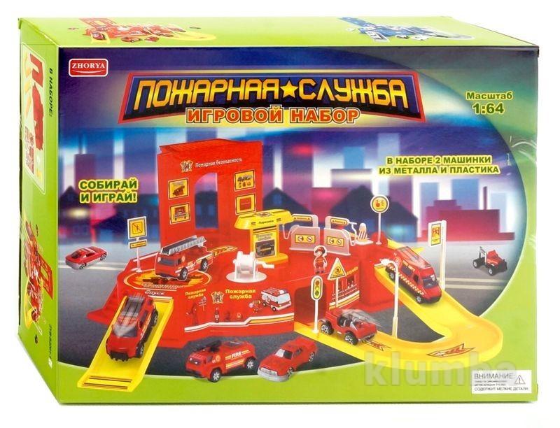 Пожарная служба. игровой набор фото №1