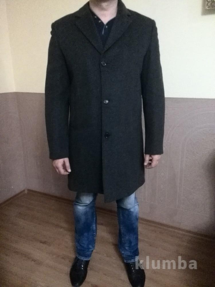 Новое шерстяное пальто на синтепоне фото №1
