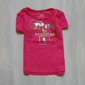 Яркая футболочка для девочки от Early Days, размер 1.5-2 года, состояние новой вещи.