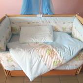 Комплект в кроватку 6 элементов