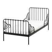 Раздвижная кровать(черная/белая) IKEA (реал.фото)