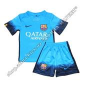 Детская футбольная форма Барселона 2015-2016 Nike резервная 17011