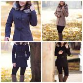 Пальто женское демисезонное 4 цвета