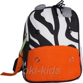 Детский рюкзак с поводком. Skip Hop - Зебра.
