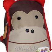 Мини-рюкзак с поводком. Skip Hop обезьянка.