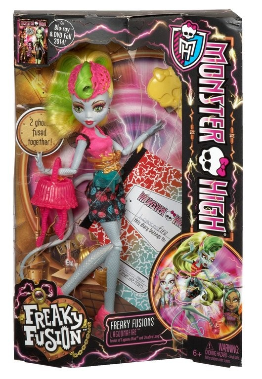 Monster high freaky fusion лагунафайр фото №1