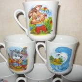 Детская чашка и тарелка  ( чашки и тарелки ) для садиков и школ опт и розница