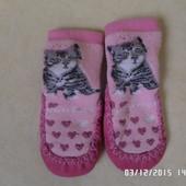 теплі носочки-пінетки 12см