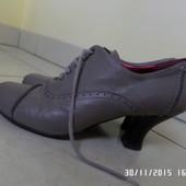 шкіряні черевички 40р.  26.5см