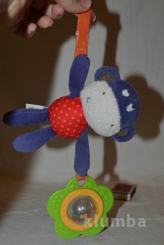 Прикольная фирменная подвеска погремушка обезьянка мартышка фото №1
