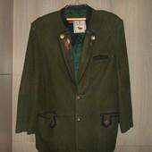 пиджак замшевый большой размер Boncetti Firenze