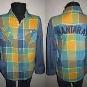 На 7-8 лет Фирменная рубашка Mantaray мальчику