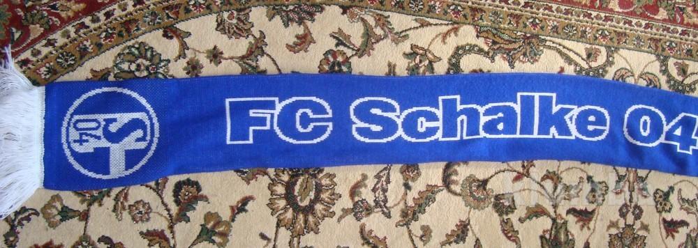 Фірмовий футбольний шарф .Ф.к .Шальке 04 . фото №1