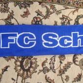 Фірмовий футбольний шарф .Ф.к .Шальке 04 .