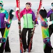 женский костюм лыжный