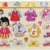 Распродажа - Игра Пазлы одежда мальчик, девочка от Josef Otten (Германия)