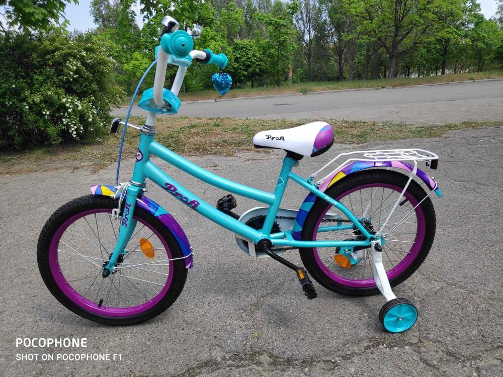 Профи геометрия 12 16 18 20 велосипед для девочки profi geometry фото №1