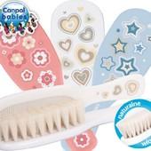 Щетка с натуральной шерсти и гребешок для волос Canpol Babies