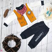 Костюм Шерифа 68, качественный костюмчик на мальчика, 6 месяцев  штаны кофта Турция