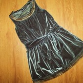 Красивое нарядное платье Marks&Spencer 2-4г, 98-104см