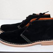 Деми ботинки нат. замша, кожа, 41-45р, Испания, новые