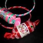 украшения -конфетки(обручи,повязки,резинки\заколки)
