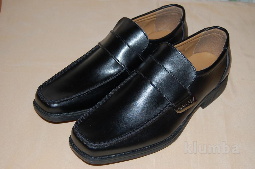 Туфли-лоферы натуральные (р.9/43) фото №1