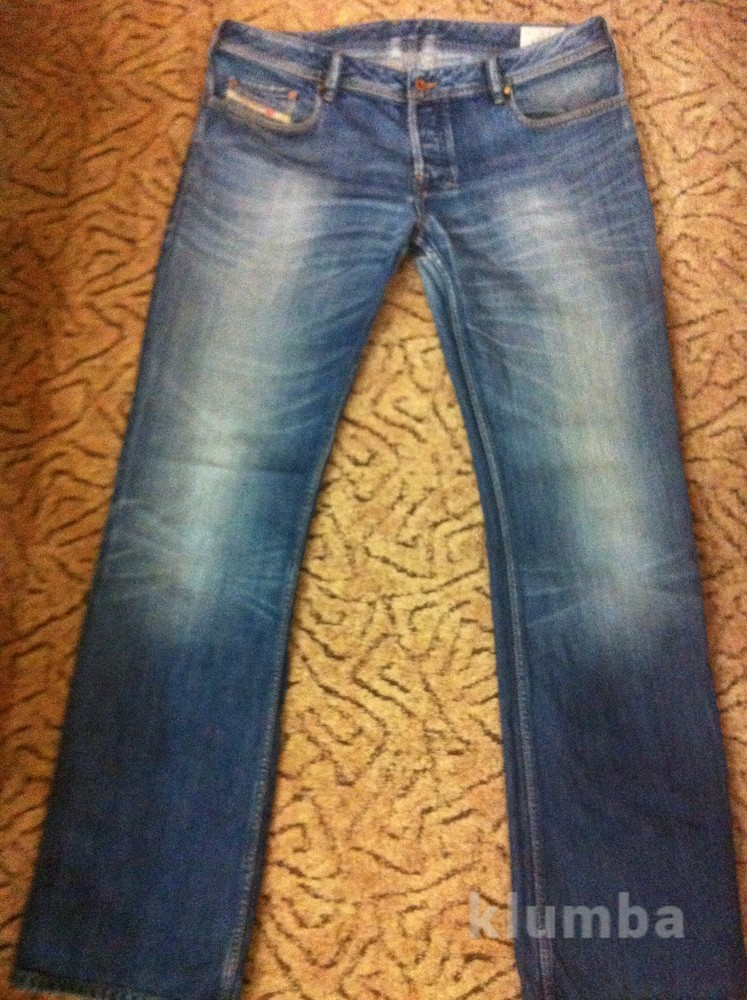 Мужские фирменные плотные джинсы для работы. Большие. фото №1