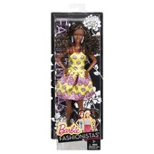 Шикарная мулатка Barbie Fashionistas Doll 20 Fancy Flowers барби